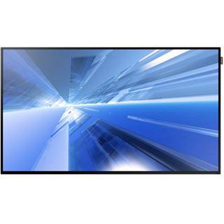 "48"" (121,92cm) Samsung Smart Signage DM48E schwarz 1920x1080 1xDP/1xDVI/2xHDMI 1.3/1xKomponenten (BNC)/1xVGA"