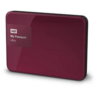 "2000GB WD My Passport Ultra WDBBKD0020BBY-EESN 2.5"" (6.4cm) USB 3.0 rot"