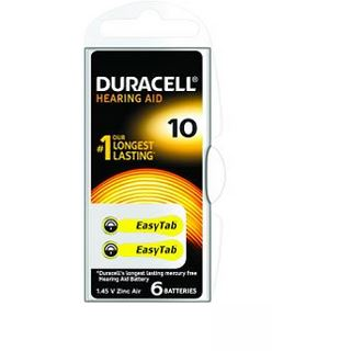 Duracell Batterien für Hörgeräte EasyTab 10 1,4V 6er-Pack