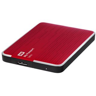 "500GB WD My Passport Ultra WDBWWM5000ABY-EESN 2.5"" (6.4cm) USB 3.0 rot"