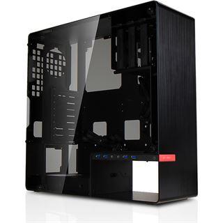 IN WIN 904 Plus mit Sichtfenster Midi Tower ohne Netzteil schwarz