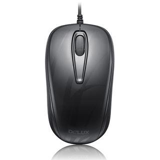 Delux M107GX USB schwarz (kabellos)
