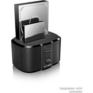 """ICY BOX Dockingstation für 2x 2.5"""" oder 3.5"""" SATA Festplatten (20925)"""