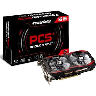 2GB PowerColor Radeon R7 370 PCS+ Aktiv PCIe 3.0 x16 (Retail)