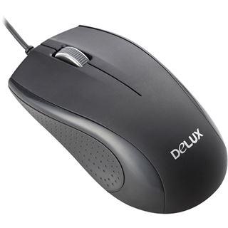 Delux DLM-375 USB schwarz (kabelgebunden)