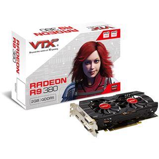 2GB VTX3D Radeon R9 380 Dual Fan Aktiv PCIe 3.0 x16 (Retail)