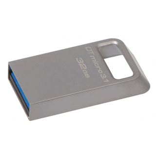 32 GB Kingston DataTraveler Micro grau USB 2.0
