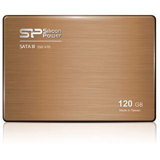 "120GB Silicon Power Velox V70 2.5"" (6.4cm) SATA 6Gb/s TLC Toggle (SP120GBSS3V70S25)"