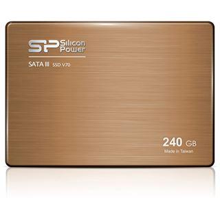 """240GB Silicon Power V70 2.5"""" (6.4cm) SATA 6Gb/s MLC Toggle (SP240GBSS3V70S25)"""