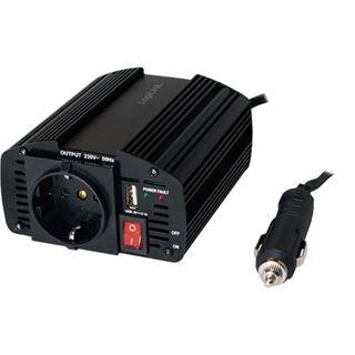 LogiLink 150W KFZ-Spannungswandler mit USB-Port