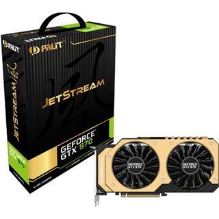 4096MB Palit GeForce GTX 970 JetStream Aktiv PCIe 3.0 x16 (Retail)