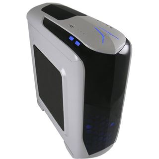 LC-Power Gaming 976W Snow Trooper mit Sichtfenster Midi Tower ohne Netzteil weiss