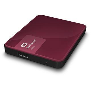 "3000GB WD My Passport Ultra WDBBKD0030BBY-EESN 2.5"" (6.4cm) USB 3.0 rot"