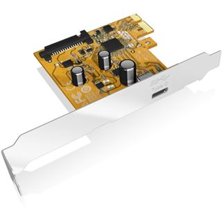 ICY BOX IB-U31-01 1 Port PCIe 3.0 x1 inkl. Low Profile Slotblech / Low Profile retail