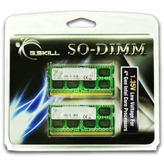 8GB G.Skill Value DDR3L-1600 SO-DIMM CL9 Dual Kit