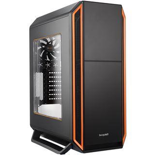 be quiet! Silent Base 800 gedämmt mit Sichtfenster Midi Tower ohne Netzteil schwarz/orange