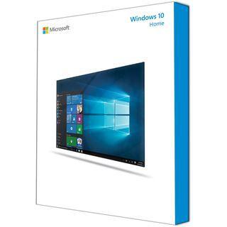Microsoft Windows 10 Home 32/64 Bit Deutsch DSP/SB