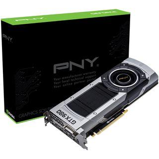 4GB PNY GeForce GTX 980 Aktiv PCIe 3.0 x16 (Retail)