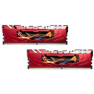16GB G.Skill RipJaws 4 rot DDR4-2800 DIMM CL16 Dual Kit