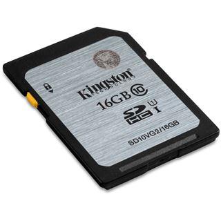 16 GB Kingston SD10VG2 SDHC Class 10 U1 Retail