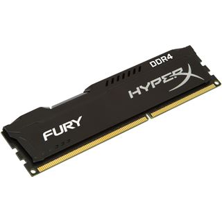 8GB (1x 8192MB) HyperX FURY schwarz DDR4-2400 DIMM CL15-15-15 Single