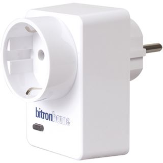Bitronvideo Bitron Home für Qivicon Smart Plug mit Schaltfunktion 16 A