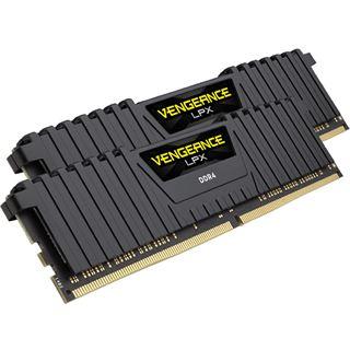 16GB Corsair Vengeance LPX schwarz DDR4-2666 DIMM CL16 Dual Kit