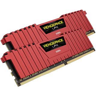 8GB Corsair Vengeance LPX rot DDR4-2666 DIMM CL16 Dual Kit