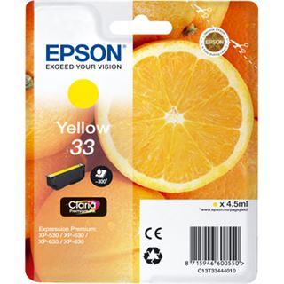 Epson Premium Ink 33 gelb
