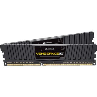 16GB Corsair Vengeance LP Series schwarz DDR3L-1600 DIMM CL9 Dual Kit