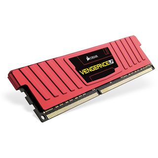8GB Corsair Vengeance LP rot DDR3L-1600 DIMM CL9 Single