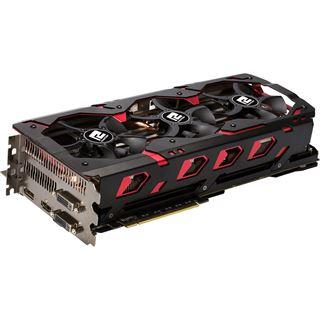 2x 8192MB PowerColor Radeon R9 390X2 Devil 13 Aktiv PCIe 3.0 x16 (Retail)