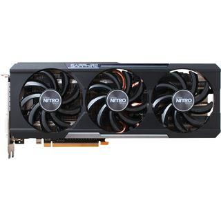 8192MB Sapphire Radeon R9 390 Nitro inkl. Backplate Aktiv PCIe 3.0 x16 (Retail)