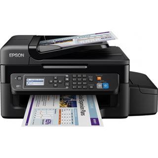 Epson EcoTank ET-4500 Tinte Drucken / Scannen / Kopieren / Faxen Cardreader / LAN / USB 2.0 / WLAN