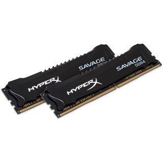 16GB Kingston HyperX Savage DDR4-2800 DIMM CL14 Dual Kit