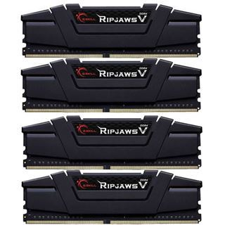 16GB G.Skill RipJaws V schwarz DDR4-3466 DIMM CL16 Quad Kit