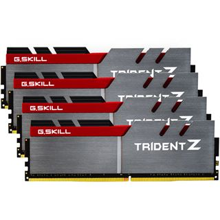 32GB G.Skill Trident Z DDR4-3400 DIMM CL16 Quad Kit