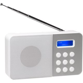 Denver DAB-33 Radio mit DAB+FM weiß