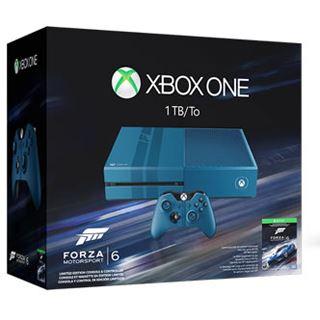 Microsoft XBox One ohne Kinect Konsole 1TB HDD WiFi & Bluetooth Forza 6 blau (XOne)