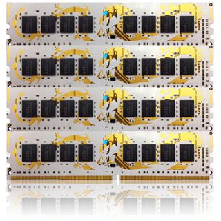 32GB GeIL white Dragon DDR4-2400 DIMM CL14 Quad Kit