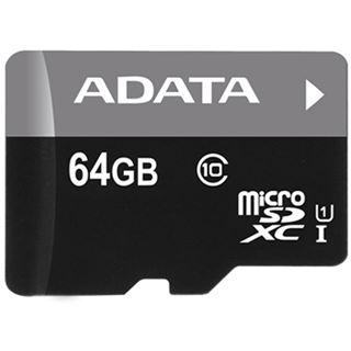 64 GB ADATA UHS-I microSDXC Class 10 U1 Retail