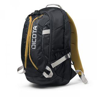 Dicota Notebook Rucksack Active 14-15.6 schwarz/gelb