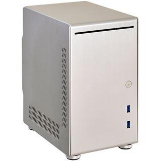 Lian Li PC-Q21A Mini-ITX ohne Netzteil silber
