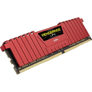 4GB Corsair Vengeance LPX rot DDR4-2400 DIMM CL14 Single