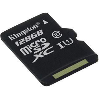 128 GB Kingston SDC10G2 microSDXC Class 10 Retail inkl. Adapter auf SD