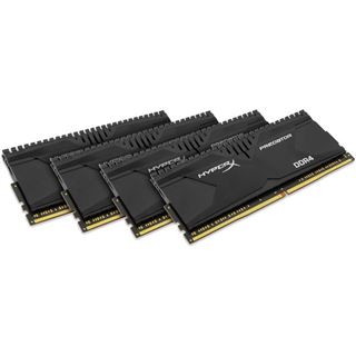 32GB HyperX Predator DDR4-2133 DIMM CL13 Quad Kit