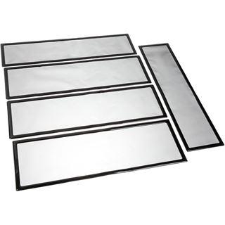 Demciflex Staubfilter Set für CaseLabs STH10 - schwarz/schwarz