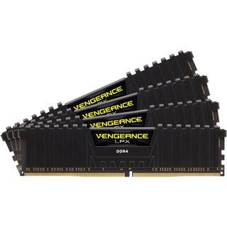 16GB Corsair Vengeance LPX schwarz DDR4-2133 DIMM CL15 Quad Kit