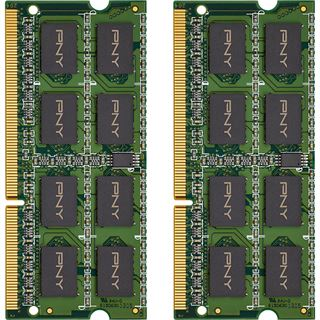 8GB PNY MN8GK2D31600LV DDR3L-1600 SO-DIMM CL11 Dual Kit
