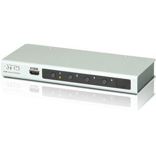ATEN Technology VS481B 4-fach HDMI-Umschalter elektronisch inkl. IR-Fernbedienung & Netzteil (DC5V)